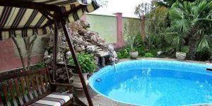 Снять 3-комнатные апартаменты на вилле с бассейном в Ялте