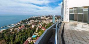 Купить апартаменты с бассейном в центре Сочи