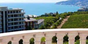 Снять апартаменты с 2 спальнями в Ливадии