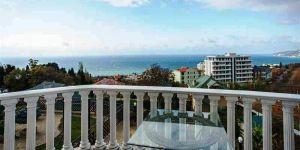 Снять 1 комнатные апартаменты с террасой в Ливадии