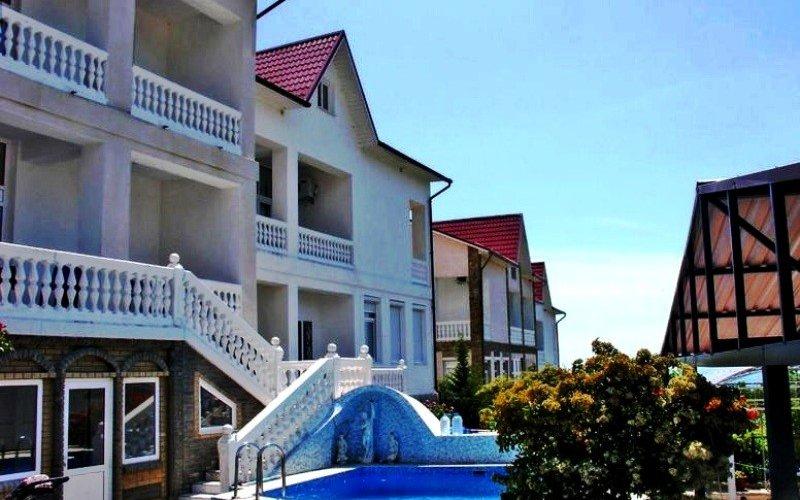 Дом с бассейном в Гаспра