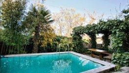 Дом с бассейном в Никите