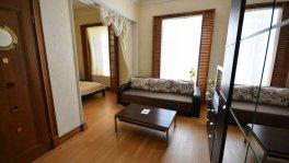 Аренда однокомнатных апартаментов на набережной в Ялте